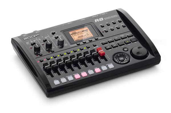 ZOOM R8 マルチトラックレコーダー新品 Recorder/Interface/Controller/Sampler[ズーム][MTR][レコーダー,インターフェイス,サンプラー][R-8]