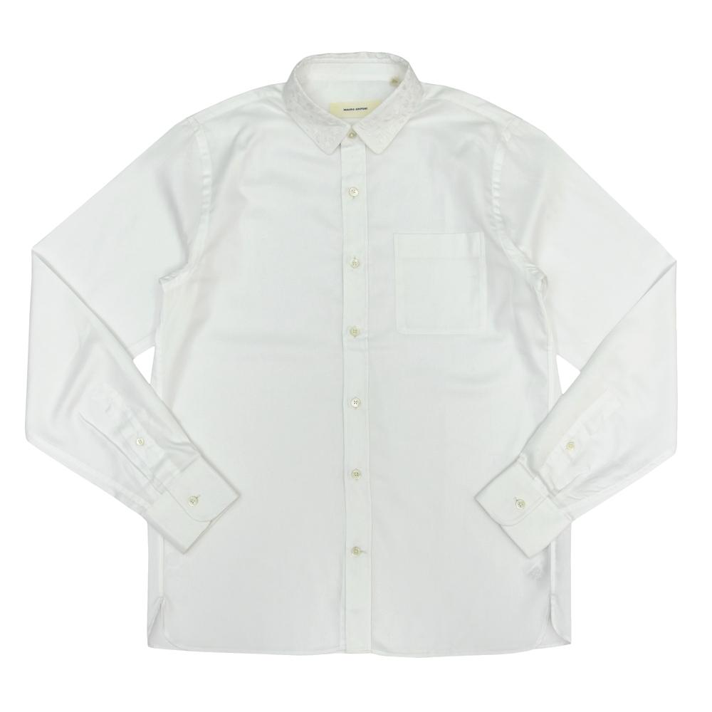 MAURO GRIFONI(マウログリフォーニ)ロイヤルオックスカモフラージュドビーミニカラーシャツ FG169184R 11132006001