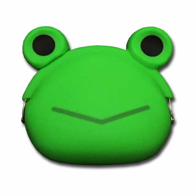 メール便対応 小物入れにも使えます 市場 シリコンがま口 mimi POCHIGMC502 ケロかえる ☆☆☆☆ 蛙 セール価格 コインケース 小銭入れ カエル