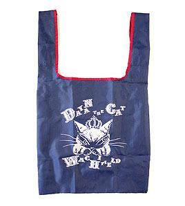 お手頃コンパクトエコバッグ 永遠の定番 わちふぃーるど 猫のダヤンエコネコダヤンバッグダヤン ザ CAT 新発売 お買い物袋 ☆☆☆☆ ダヤン 紺エコバッグ