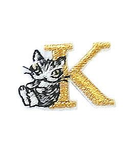 メール便OK わちふぃーるど ランキングTOP5 猫のダヤン アップリケ刺繍ステッカーダヤン 新商品 雑貨 ねこ Kネコ ☆☆☆☆