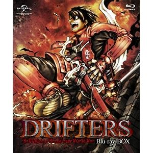 DRIFTERS Blu-ray BOX〈特装限定生産〉 [Blu-ray]