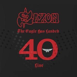 輸入盤 SAXON / EAGLE HAS LANDED 40 (LIVE) (LTD) [5LP]