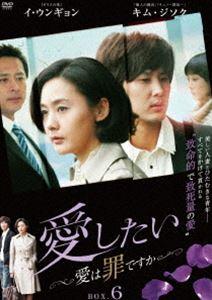 愛したい~愛は罪ですか~ DVD-BOX6【最終巻】 [DVD]