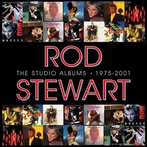 輸入盤 ROD STEWART / STUDIO ALBUMS 1975-2001 [14CD]