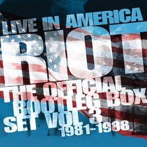 輸入盤 RIOT / LIVE IN AMERICA - THE OFFICIAL BOOTLEG BOX SET VOL 3 1981-1988 [6CD]