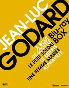 ジャン=リュック・ゴダール Blu-ray BOX Vol.1/ヌーヴェル・ヴァーグの誕生 [Blu-ray]