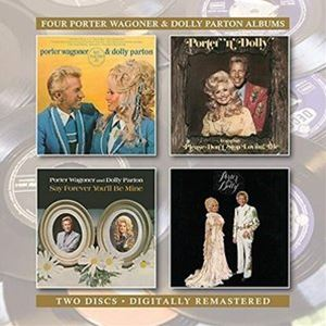 PORTER WAGONER DOLLY PARTON WE FOUND IT CD 'N' FOREVER BE MINE YOU'LL SAY 内祝い 限定価格セール
