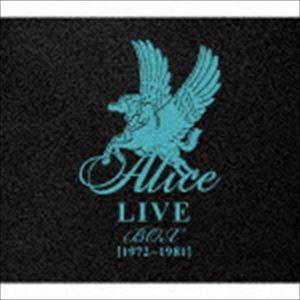 アリス / ALICE LIVE BOX [1972~1981](限定盤/12CD+DVD) [CD]