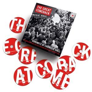 輸入盤 VLADIMIR HOROWITZ / GREAT COMEBACK : HOROWITZ AT CARNEGIE HALL 1965&1966 [15CD]