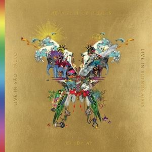 輸入盤 COLDPLAY / LIVE IN BUENOS AIRES/ LIVE IN SAO PAULO/ A HEAD FULL OF DREAMS [3LP+2DVD]