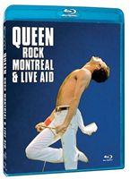 輸入盤 QUEEN ROCK MONTREAL 送料無料 激安 お買い得 キ゛フト LIVE AID ディスカウント BLU-RAY