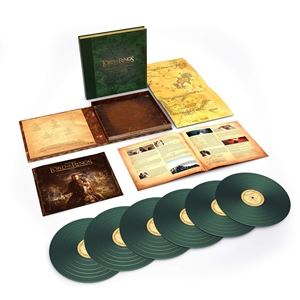 輸入盤 O.S.T. / LORD OF THE RINGS: THE RETURN OF THE KING : THE COMPLETE RECORDINGS (LTD) [6LP]