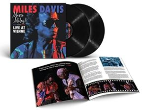 輸入盤 MILES DAVIS 新色追加して再販 MERCI LIVE LTD VIENNE 2LP AT 全国一律送料無料
