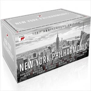 輸入盤 NEW YORK PHILHARMONIC / NYP 175TH ANNIVERSARY [159CD]