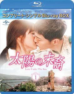 太陽の末裔 送料無料でお届けします Love Under The Sun シンプルBD-BOX6,000円シリーズ Blu-ray タイムセール コンプリート 期間限定生産 BD-BOX1