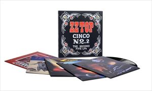 輸入盤 ZZ TOP / CINCO NO. 2: THE SECOND FIVE LPS (180GRAM 5LP VINYL BOX) [5LP]