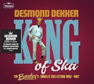 輸入盤 DESMOND DEKKER KING OF SKA : 2CD RECORDS BEVERLY'S 1963-1967 完全送料無料 SINGLES 買い取り COLLECTION