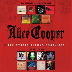 輸入盤 ALICE COOPER / STUDIO ALBUMS : 1969-1983 [15CD]