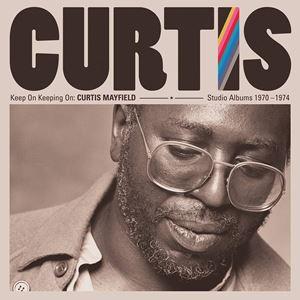輸入盤 CURTIS MAYFIELD / KEEP ON KEEPING ON: CURTIS MAYFIELD STUDIO ALBUMS 1970-1974 [4LP]
