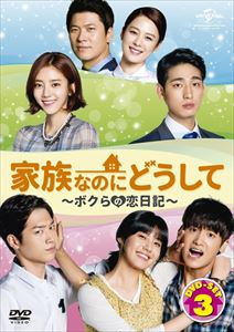 家族なのにどうして~ボクらの恋日記~ DVD SET3 [DVD]
