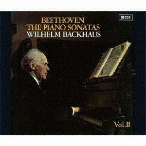 ヴィルヘルム・バックハウス / ベートーヴェン:ピアノ・ソナタ全集Vol.2 [スーパーオーディオCD]