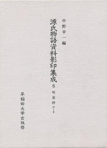 源氏物語資料影印集成 6