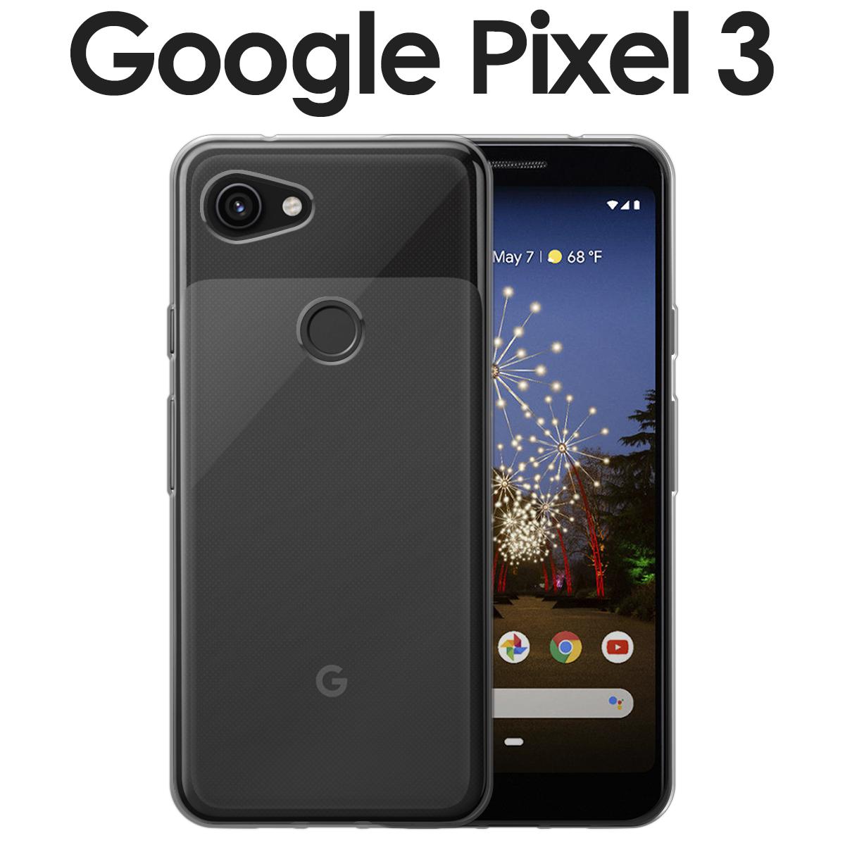 正規認証品 新規格 TPU クリアケース Pixel 3 ネコポス対応 pixel3-tpu 1 M便 推奨