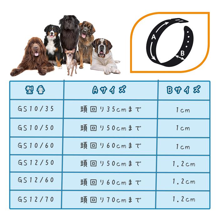 ファンタジーワールド ダービー チョークカラー CS12/50 ブラック 75382801 (犬用しつけ用品)【ネコポス不可】