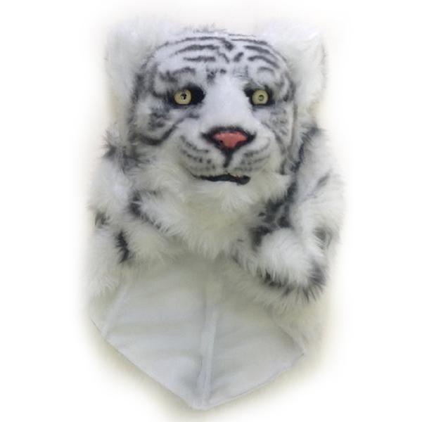 【ネコポス不可】ムービングマスク ホワイトタイガー【A】【キャンセル・返品不可】