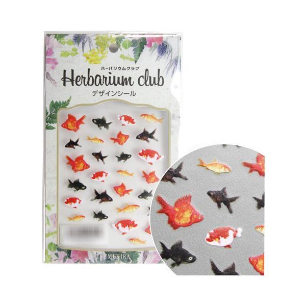 ハーバリウムに入れておしゃれにアレンジ 新作続 ネコポス対応 ハーバリウムクラブ ハーバリウムシール 金魚 両面印刷 キャンセル M便 A 1 [並行輸入品] HR-KNG-101 返品不可