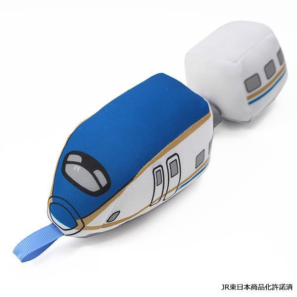 E7系かがやきのベビーおもちゃです ネコポス不可 JR新幹線 ぶるぶるトレイン E7系かがやき キャンセル 返品不可 在庫処分 ブルー 通販 激安◆ A J-7002