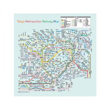 見やすく携帯に便利なトレシー 100円OFFクーポン 定番から日本未入荷 9 4 20:00~9 11 1:59 ネコポス対応 トレシー 22×22cm M便 Metropolitan 2222P-TMP 返品不可 Tokyo 期間限定送料無料 Map 1 Railway A キャンセル