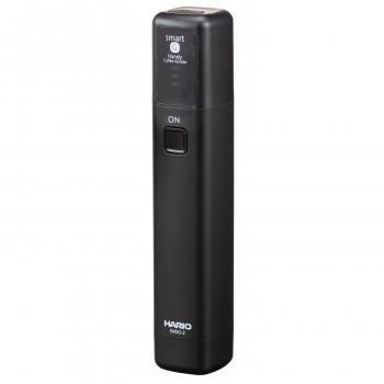 コンパクトなサイズとリチウムイオン蓄電池式で持ち運びも可能 ネコポス不可 卓抜 HARIO おすすめ ハリオ モバイルミル スティック MSS キャンセル A EMS-1B 返品不可 MSG用ホルダー付