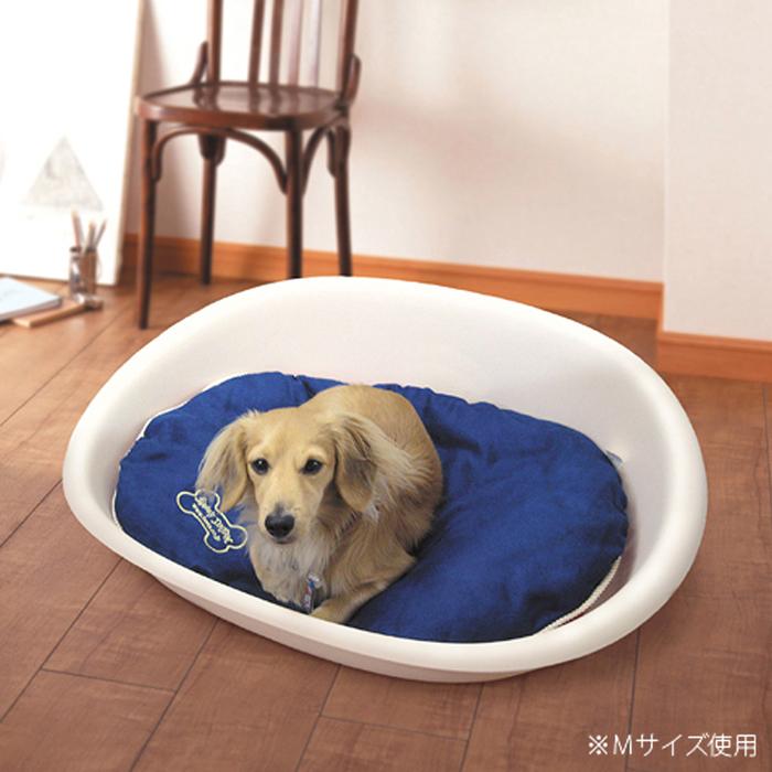 ファンタジーワールド ファンタジスタ オーバルタイプ:L レッド FS-3R (犬・猫用ベッド)【ネコポス不可】