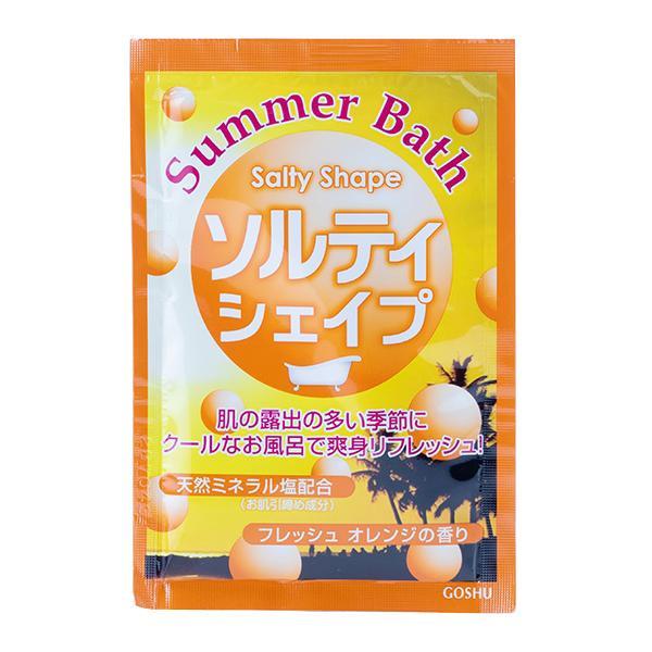 【ネコポス不可】五洲薬品 入浴用化粧品 Summer Bath(サマーバス) ソルティシェイプ (25g×10包)×12箱 SB-SS【A】【キャンセル・返品不可】