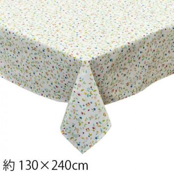 シンプルでかわいらしいデザイン ネコポス不可 川島織物セルコン 新入荷 流行 ミントン ハドンホールアニバーサリー 卸売り テーブルクロス 130×240cm I HM1240 A キャンセル アイボリー 返品不可