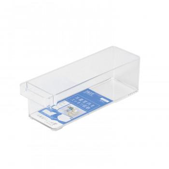 冷蔵室内をスッキリ収納 100円OFFクーポン 9 4 20:00~9 11 ファクトリーアウトレット 1:59 年中無休 ネコポス不可 HB-5562 冷蔵室トレー深型 A キャンセル スキット パール金属 スリム 返品不可