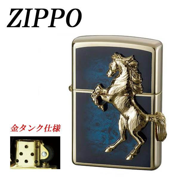 【ネコポス対応】ZIPPO ゴールドプレートウイニングウィニー アトランティックブルー[M便 1/1]【A】