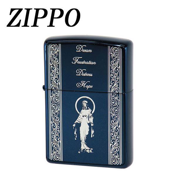 【ネコポス対応】ZIPPO スピリッツオブブルー マリア[M便 1/1]【A】【キャンセル・返品不可】