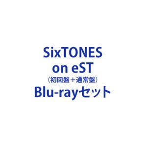 売店 SixTONES on eST Blu-rayセット 初回盤 通常盤 大人気
