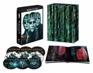 マトリックス トリロジー 日本語吹替音声追加収録版<4K ULTRA HD&HDデジタル・リマスター ブルーレイ>【初回限定生産】 [Ultra HD Blu-ray]