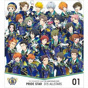 315 ALLSTARS THE IDOLM@STER SideM 5th ANNIVERSARY CD 大好評です STAR 01 PRIDE 百貨店 DISC