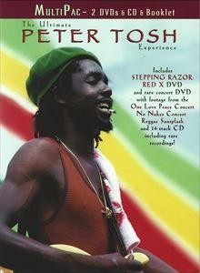輸入盤 PETER TOSH ULTIMATE 国内即発送 ギフ_包装 EXPERIENCE 2DVD CD
