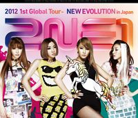 2NE1 2012 1st Global Tour-NEW EVOLUTION in Japan [Blu-ray]:ぐるぐる王国 店