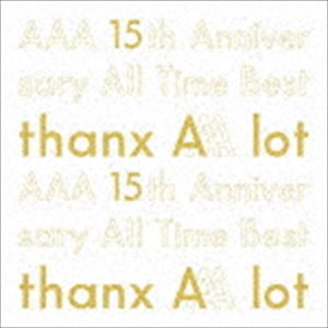 [送料無料] AAA / AAA 15th Anniversary All Time Best -thanx AAA lot-(初回生産限定盤) [CD]