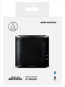 【SOLID BASS】audio-technica/Bluetooth対応ワイヤレススピーカー/AT-SBS50BT BK
