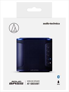 【SOLID BASS】audio-technica/Bluetooth対応ワイヤレススピーカー/AT-SBS50BT BL
