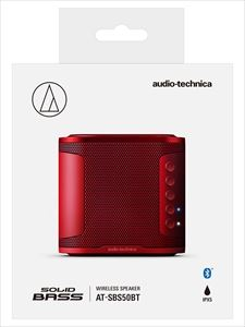 【SOLID BASS】audio-technica/Bluetooth対応ワイヤレススピーカー/AT-SBS50BT RD