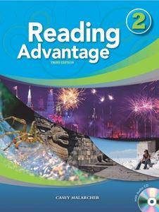 ■外国語教材 Reading Advantage 3rd Edition Level Book 世界の人気ブランド Audio 2 CD with Student 毎日続々入荷